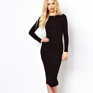 ASOS Black Bodycon Dress